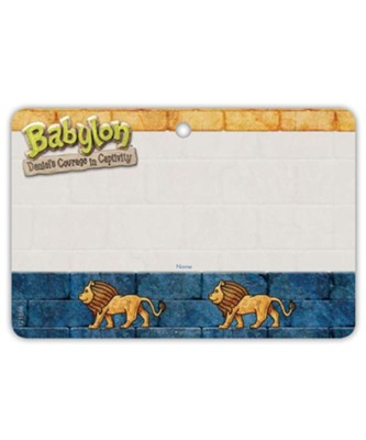 Babylon: Name Badges (pkg. of 10)  -