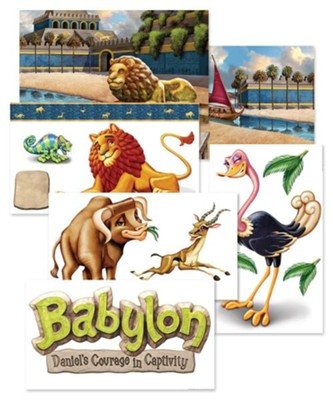 Babylon: Giant Decorating Posters (set of 6)  -