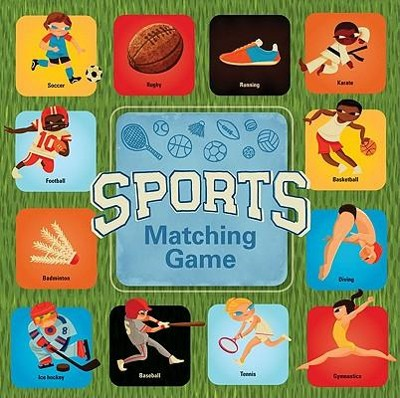 Sports Matching Game  -     By: Micah Player(ILLUS) & Amy E. Achaibou(DESIGN)     Illustrated By: Micah Player, Amy E. Achaibou
