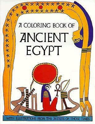 Ancient Egypt-Coloring Book  -     By: Bellerophon Books