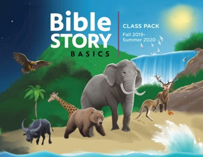 Bible Story Basics: Annual Class Pack with CD, Fall 2019 - Summer 2020  -