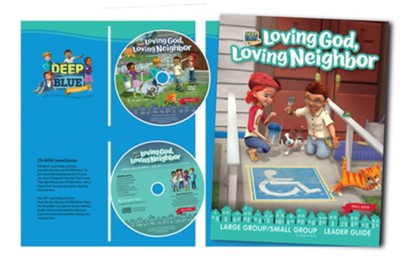 Deep Blue Connects: Loving God, Loving Neighbor Large/Small Group Kit, Fall 2019  -
