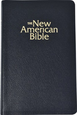 NABRE Deluxe Gift Bible, Bonded Leather, Black Indexed  -