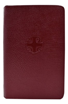 Christian Prayer Leather Zipper Case  -     By: Catholic Book Publishing Corp