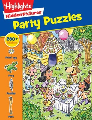 Highlights(tm) Sticker Hidden Pictures(r) Party Puzzles  -