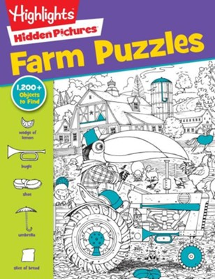 Highlights(tm) Hidden Pictures(r) Favorite Farm Puzzles  -     By: Highlights for Children