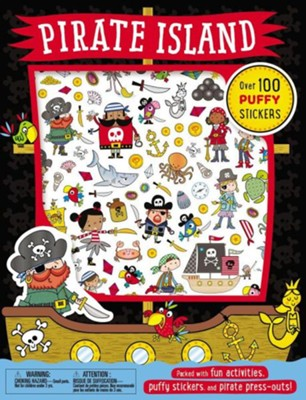 Puffy Stickers Pirate Island  -     By: Thomas Nelson