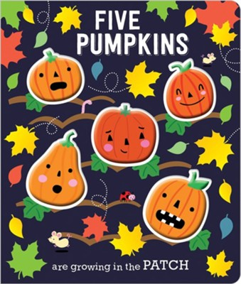 Board Book Five Little Pumpkins  -     By: Make Believe Ideas Ltd