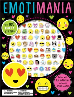 Emotimania Puffy Stickers  -     By: Make Believe Ideas