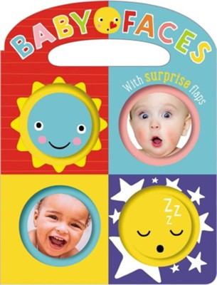 Baby Faces Boardbook  -