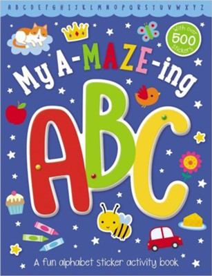 My A-Maze-Ing ABC Activity Book  -