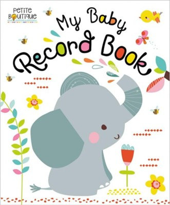 My Baby Record Book  -