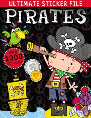 Ultimate Sticker File: Pirates  -