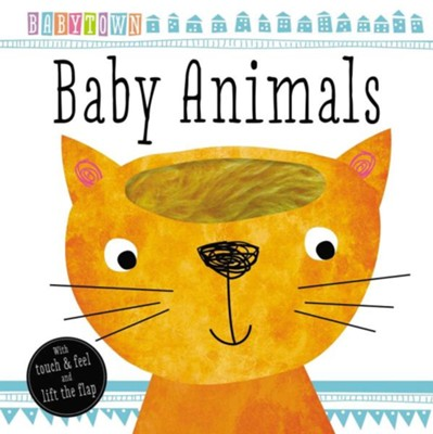 BabyTown Touch and Feel Baby Animals  -