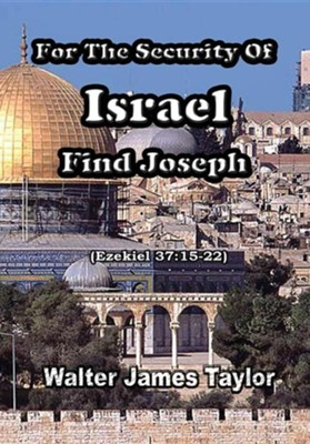 For the Security of Israel Find Joseph  -     By: Walter James Taylor
