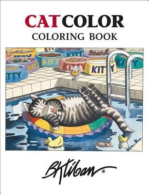 B. Kliban Catcolor Coloring Book  -     By: B. Kliban(ILLUS)     Illustrated By: B. Kliban