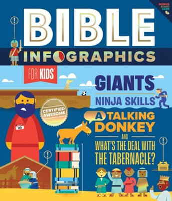 Bible Infographics for Kids: Giants, Ninja Skills, a Talking Donkey, and What's the Deal with the Tabernacle  -