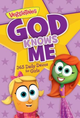 God Knows Me: 365 Daily Devos for Girls  -