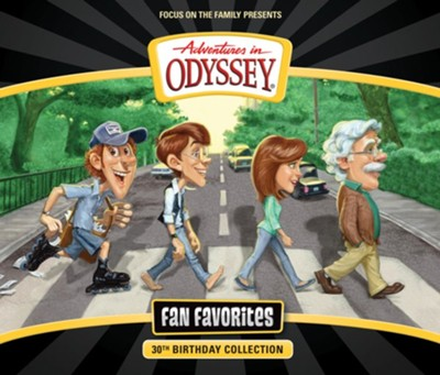 Adventures in Odyssey Fan Favorites CD  -
