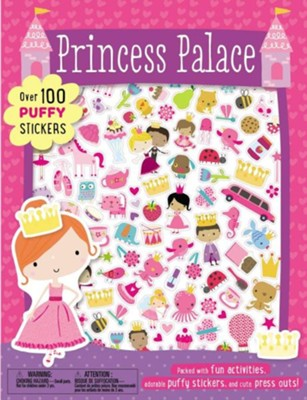Princess Palace Puffy Sticker Book  -