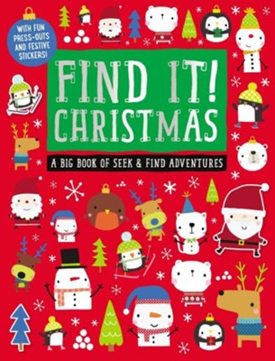 Find It! Christmas Activity  -     By: Thomas Nelson