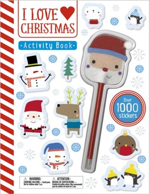 Activity Books: I Love Christmas  -     By: Thomas Nelson