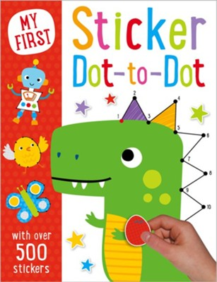 My First Sticker Dot to Dot  -     By: Thomas Nelson