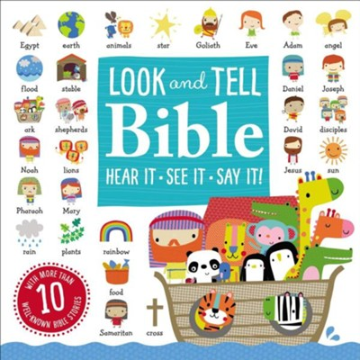 Look and Tell Bible Stories  -     By: Thomas Nelson