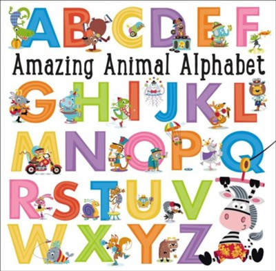 Amazing Animal Alphabet  -     By: Thomas Nelson