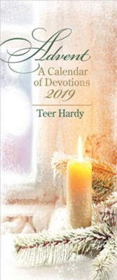 Advent: A Calendar of Devotions 2019 - eBook [ePub] - eBook  -     By: Teer Hardy