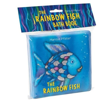 Rainbow fish puzzle book marcus pfister 9780735840966 the rainbow fish bath book fandeluxe Gallery