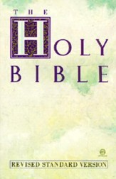 RSV Text Bible, Paper, Multi-Colored