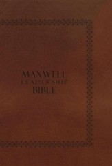 NIV Maxwell Leadership Bible, Briefcase Edition--hardcover  - Slightly Imperfect