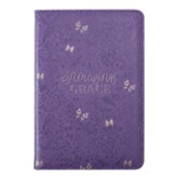 Amazing Grace Bible Study Kit, LuxLeather, Purple