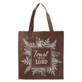 Trust In the Lord Tote Bag, Brown