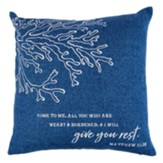 Give You Rest Pillow, Blue