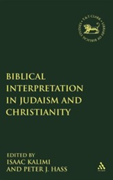 Biblical Interpretation in Judaism and Christianity
