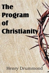 The Program of Christianity
