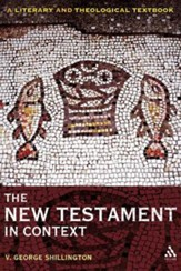 The New Testament in Context: A Literary and Theological Textbook
