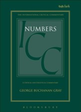 Numbers, International Critical Commentary