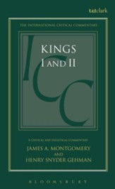 1st & 2nd Kings, International Critical Commentary