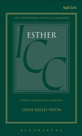 Esther, International Critical Commentary