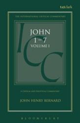 St. John 1-7, International Critical Commentary