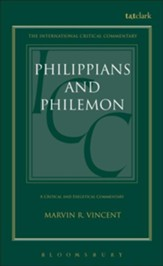 Philippians and Philemon, International Critical Commentary
