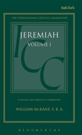 Jeremiah 1-25, International Critical Commentary