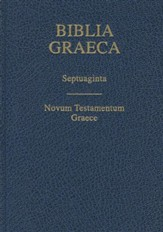 Biblia Graeca- Septuagint, Cloth, Blue