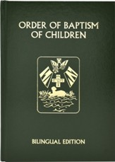 Order of Baptism of Children - Bilingual Edition