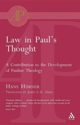 Law in Paul's Thought
