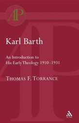 Karl Barth: Introduction to Early Theology