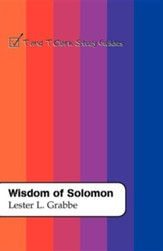 Wisdom of Solomon: T&T Clark Study Guides